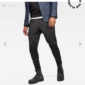 Men G-Star Raw Air Defense Zip Knee Sweat Pants